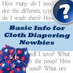 Basic info on cloth diapering