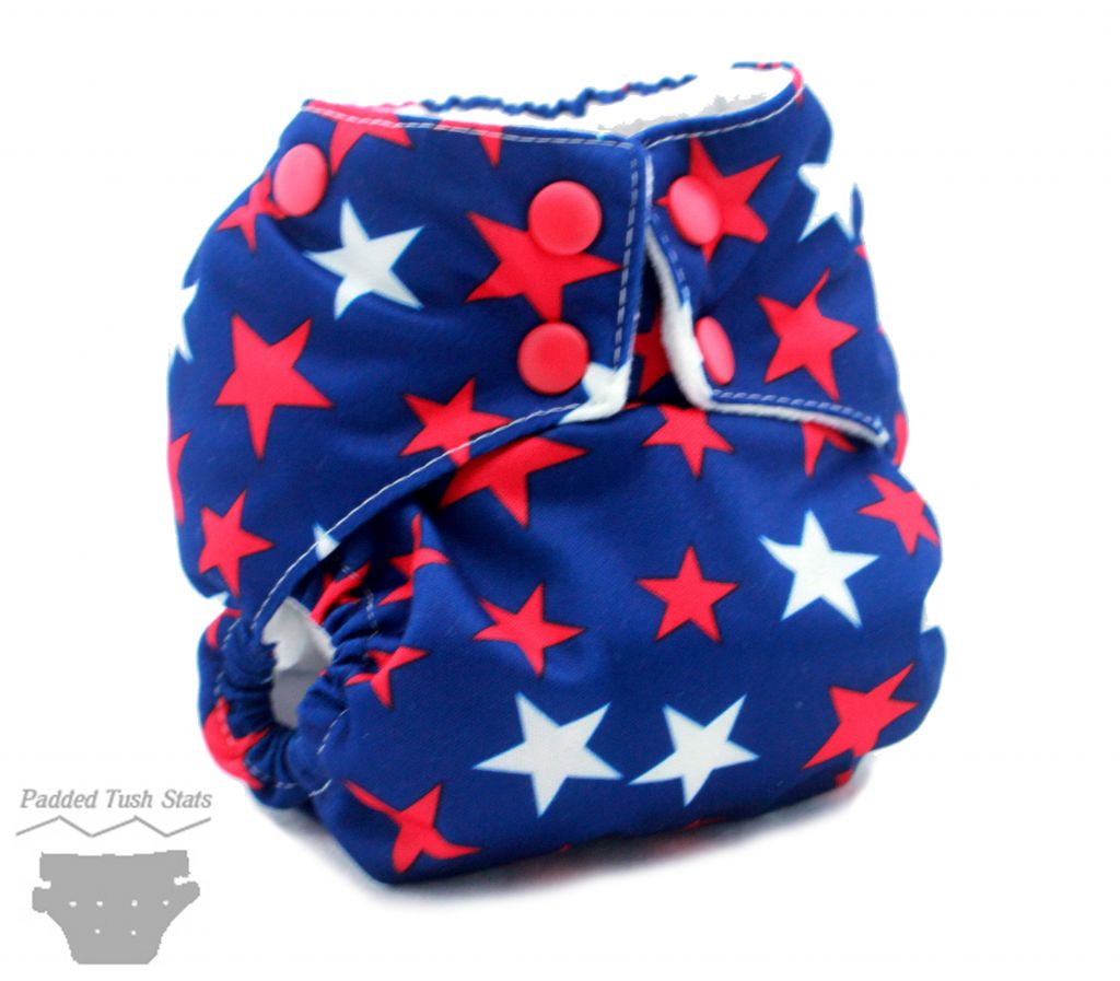 Moraki Pocket Cloth Diaper - Smallest Setting