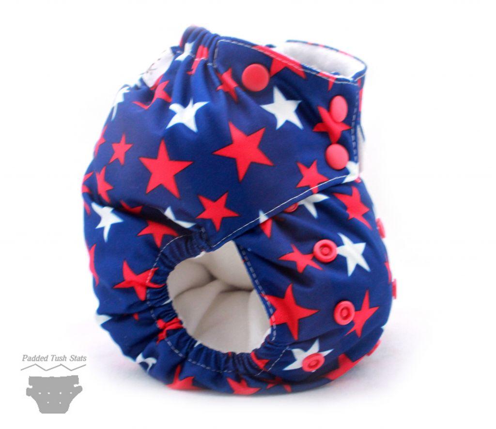 Moraki Pocket Cloth Diaper - Side View